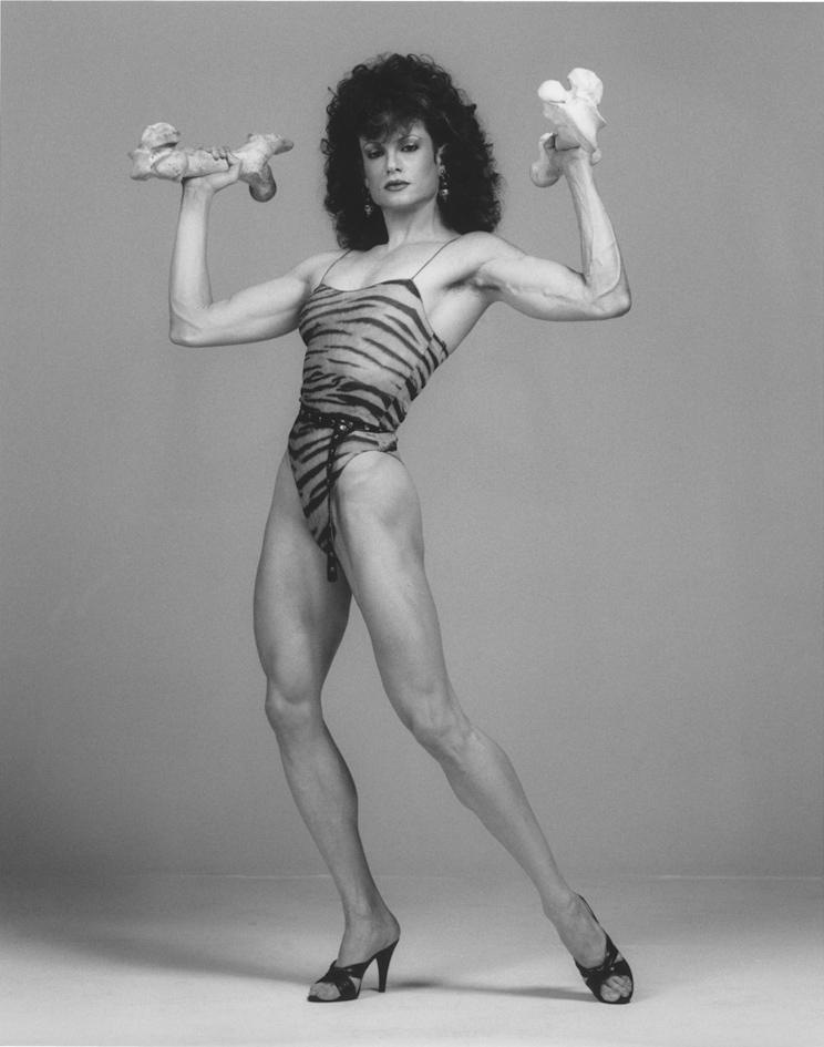 Lisa Lyon, 1983 © Robert Mapplethorpe Foundation. Used by permission.