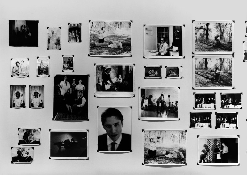 Zoe Leonard (b.1961), detail of  The Fae Richards Photo Archive,  1993-96. Gelatin Silver prints and chromogenic prints, dimensions variable. Whitney Museum of American Art, New York; purchase with funds from the Contemporary Painting and Sculpture Committee and the Photography Committee