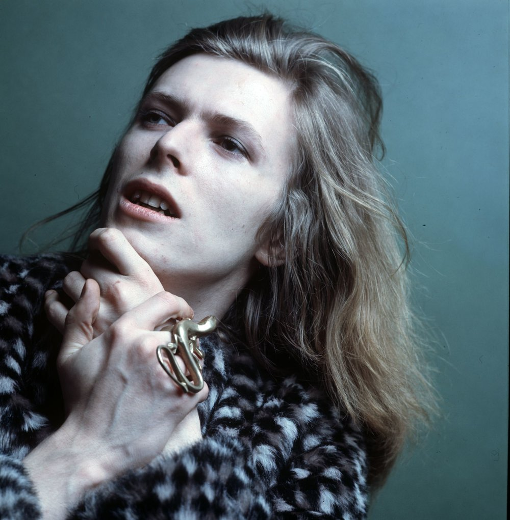 David Bowie, 1971. Photograph by Brian Ward. Courtesy of The David Bowie Archive