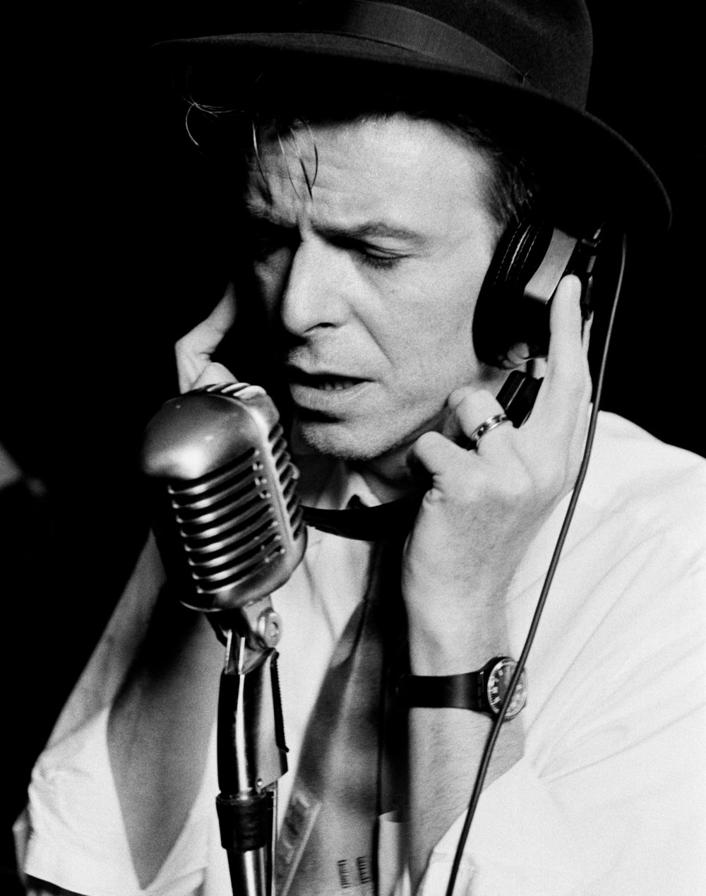 David Bowie, 1992. Photograph by Peter Gabriel. Courtesy of the photographer. © Peter Gabriel