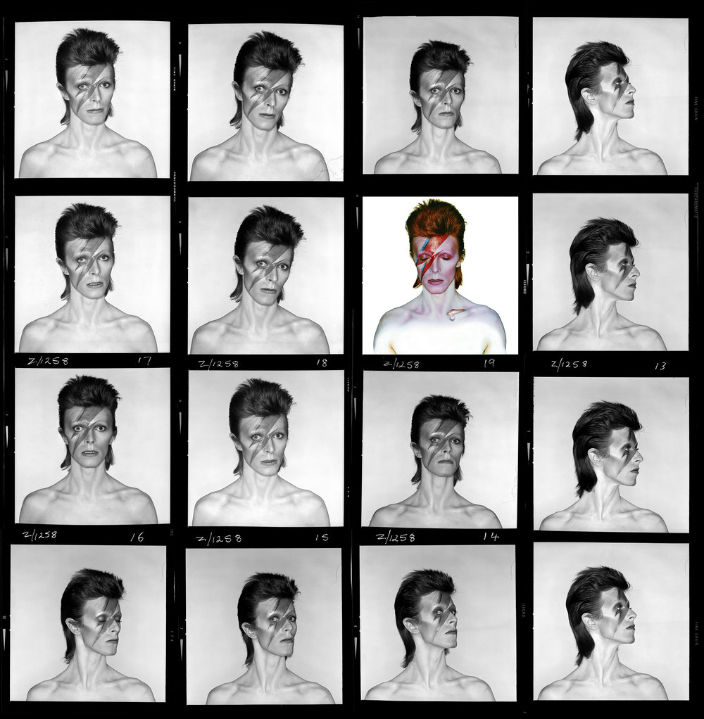 Aladdin Sane, 1973.  Photo Duffy © Duffy Archive & The David Bowie Archive