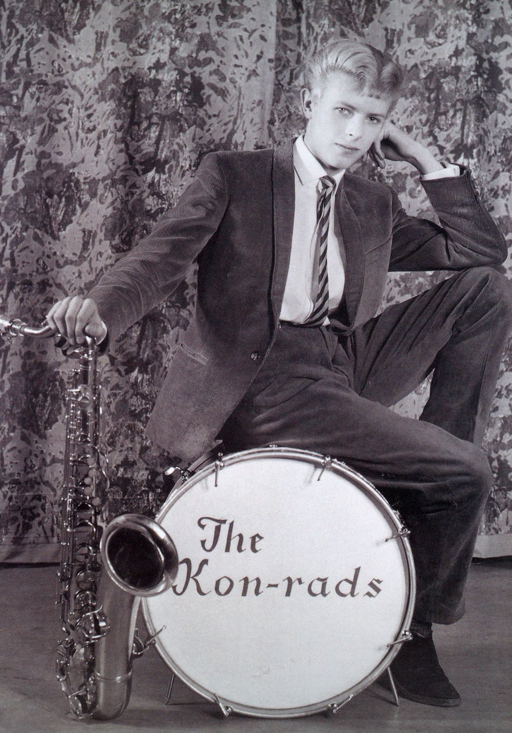 Publicity photograph for The Kon-rads, 1963, Courtesy of The David Bowie Archive © Victoria and Albert Museum