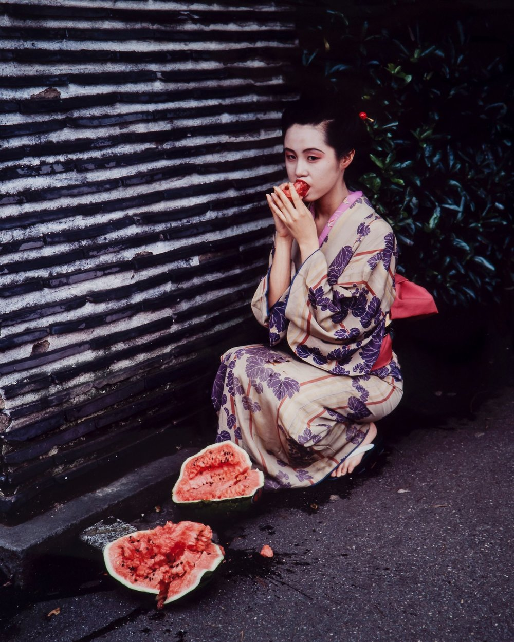 ©Nobuyoshi Araki , Colourscapes, 1991  Courtesy of Museum of Sex Collection.