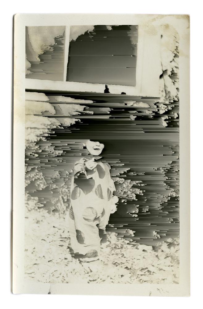 Boy in Clown Costume Untitled #7 ©Nick Schietromo