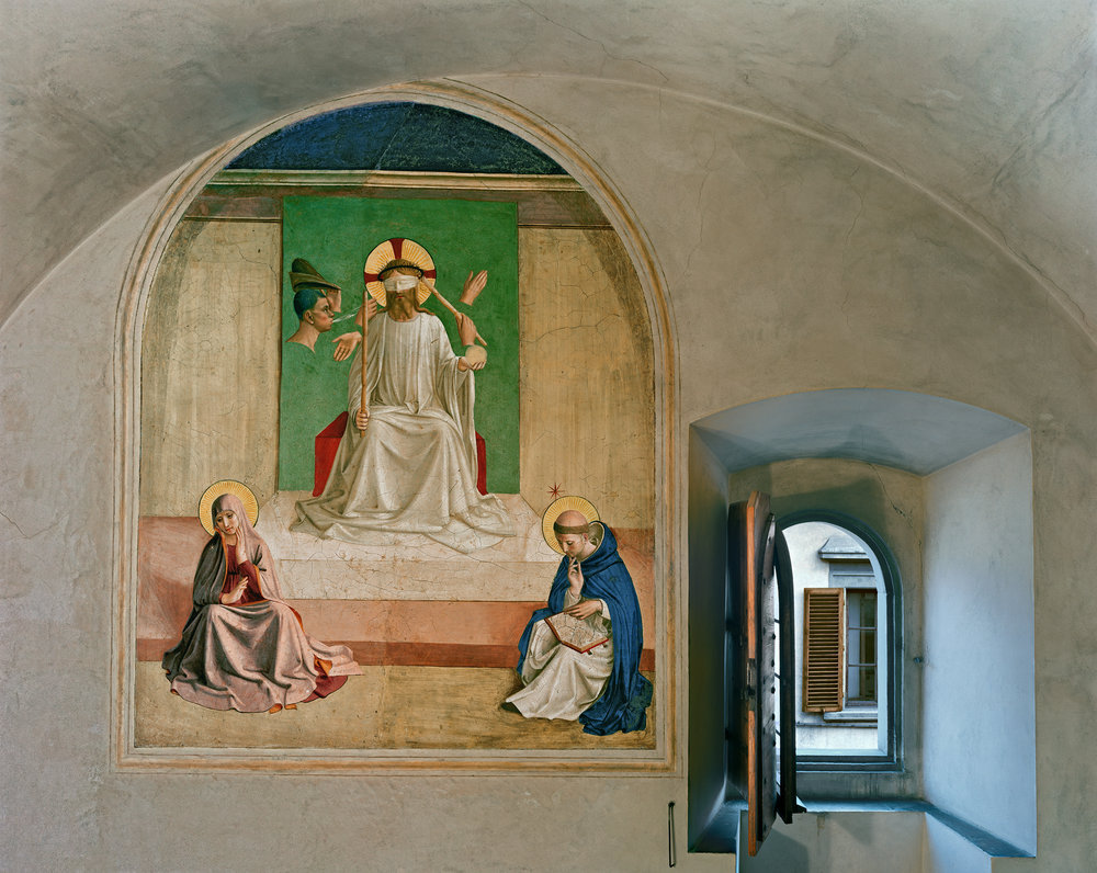 The Mocking of Christ by Fra Angelico, Cell 7, Museum of San Marco Convent, Florence, Italy, 2010 © Robert Polidori, Courtesy of Paul Kasmin Gallery