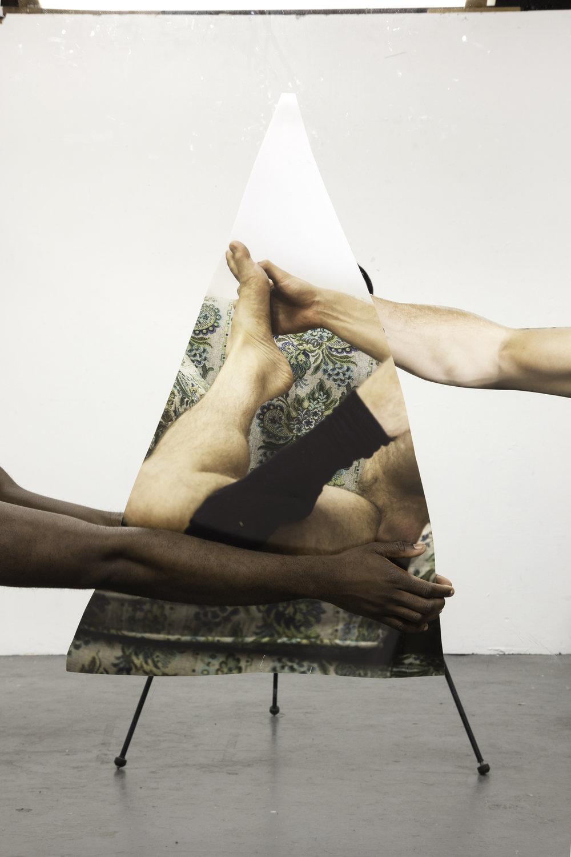 Paul Mpagi Sepuya. Mirror Study (4R2A0857) . 2016. Pigmented inkjet print, 51 × 34″ (129.5 × 86.4 cm). The Museum of Modern Art, New York. Fund for the Twenty-First Century. © 2018 Paul Mpagi Sepuya