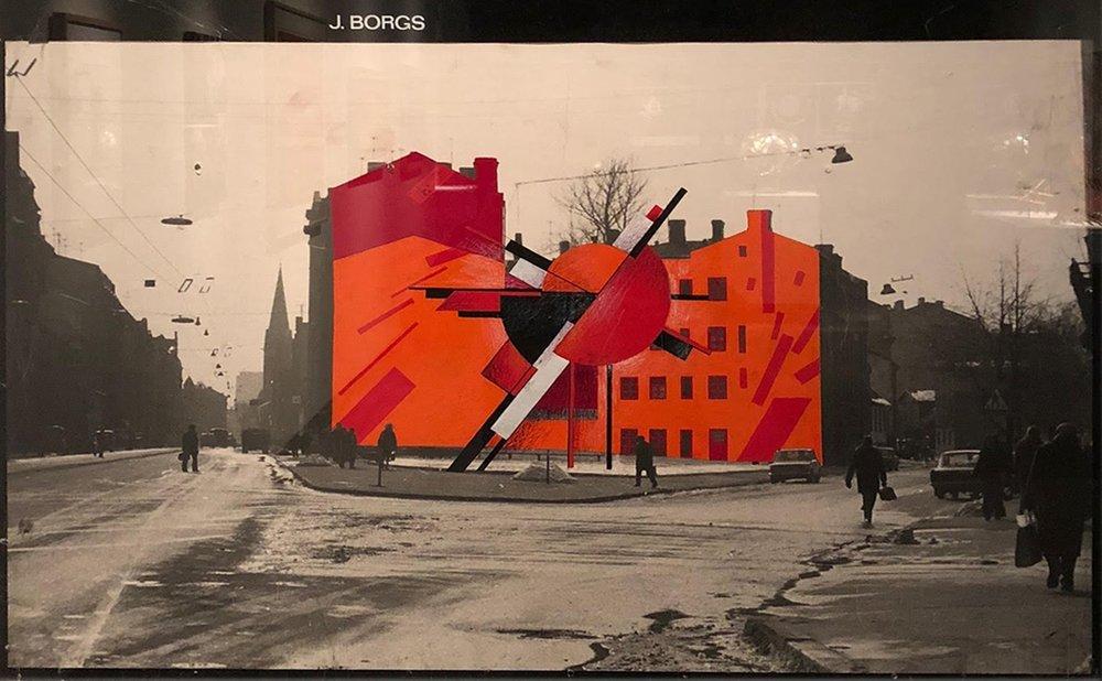 © Jānis Borgs, Dynamic City  ,  1976