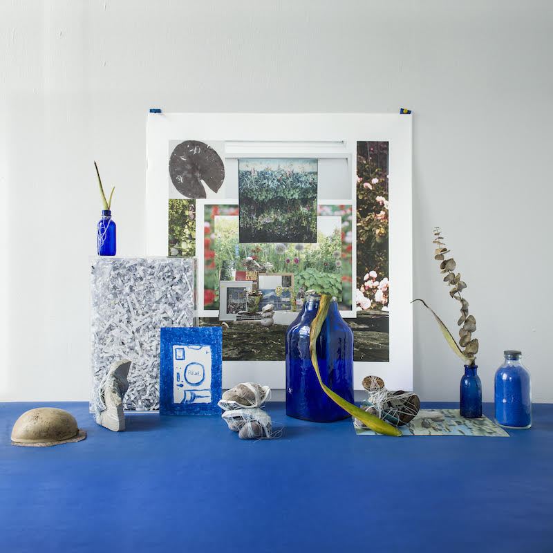 Mary Mattingly   On Being Blue , 2018  © Mary Mattingly, courtesy Robert Mann Gallery