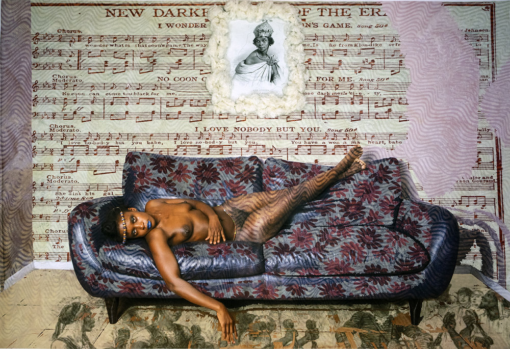 Adama Delphine Fawundu  The Sacred Star of Isis, 2018  Courtesy Steven Kasher Gallery, New York
