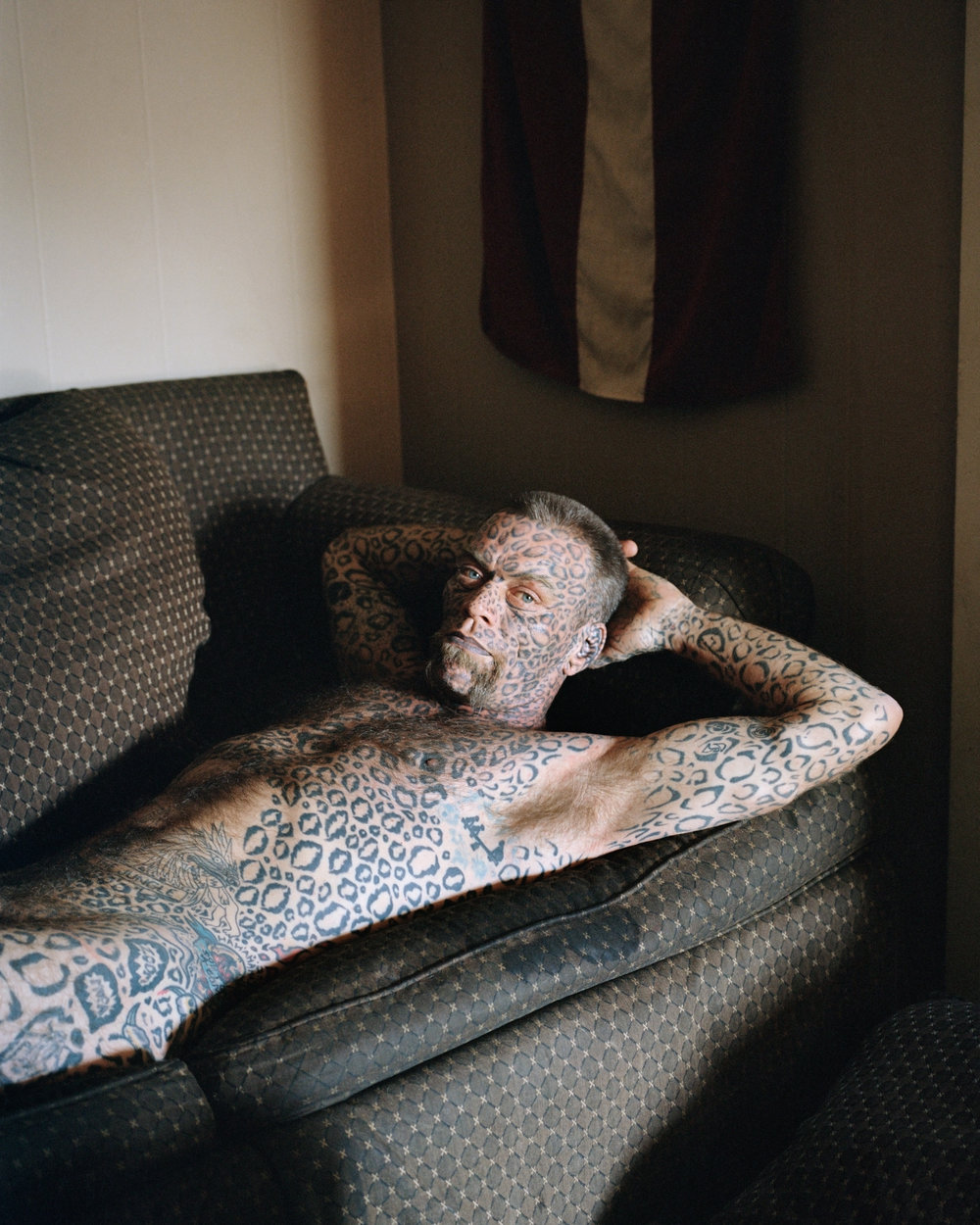 Émilie Régnier  Larry (from the Leopard series)  Courtesy Steven Kasher Gallery, New York