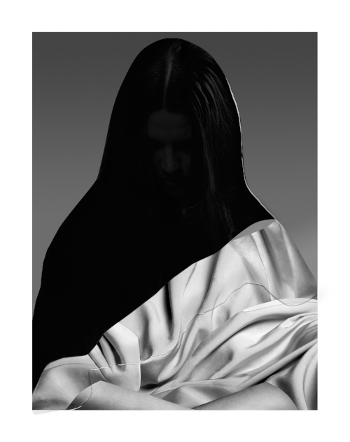Drape, 2015. Archival pigment print on Hahnemühle Photo  Rag Paper, Epoxy. 43.5 x 50.5 cm
