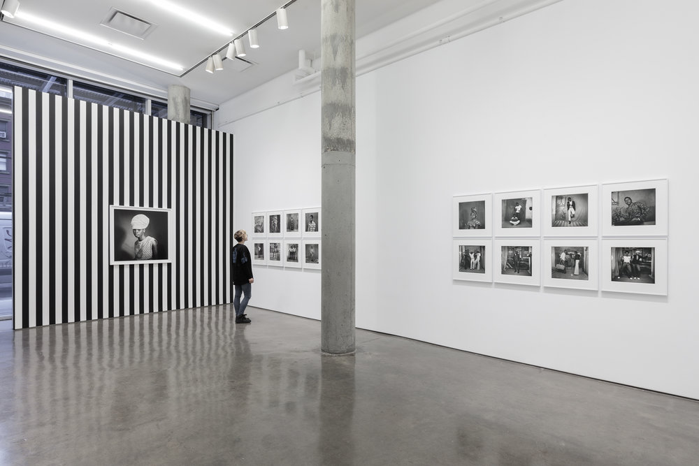 Installation view of   Sanle Sory: Volta Photo  : East Gallery ©Yossi Milo Gallery