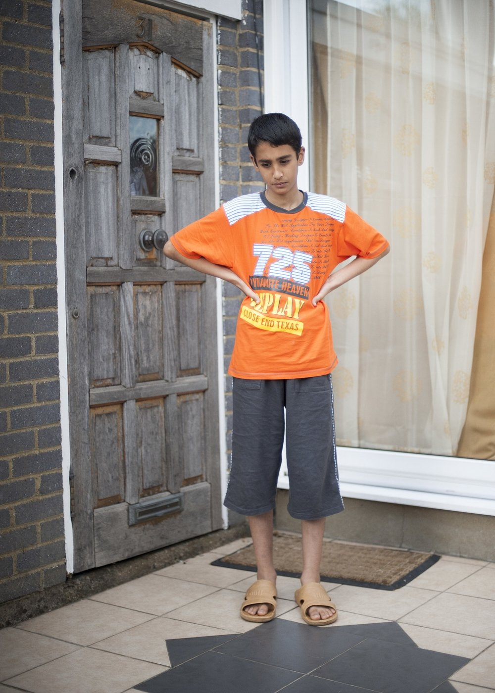 "Ahmed:  ""I'm going to my new school with only three friends. It took me ages (at Primary school) to find five friends but now I just want to stay with them. I don't want to stick to them all the time but I just want to be with them whenever they need me. One thing I have learnt is to keep your friends close. I have learnt to treat others how you want to be treated."""