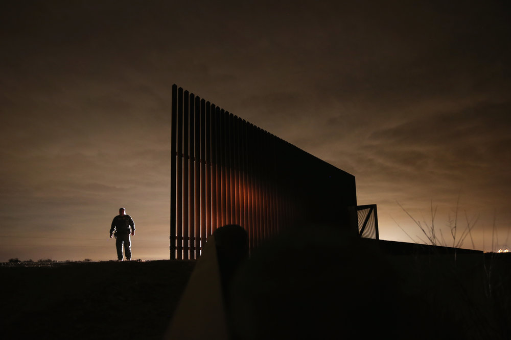U.S. Customs And Border Protection Secures Tex-Mex Border From Land, Air and Sea Photo by John Moore/Getty Images