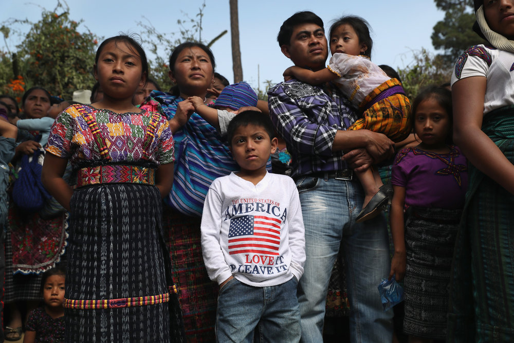Funeral Held For Two Guatemalan Children Murdered Photo by John Moore/Getty Images