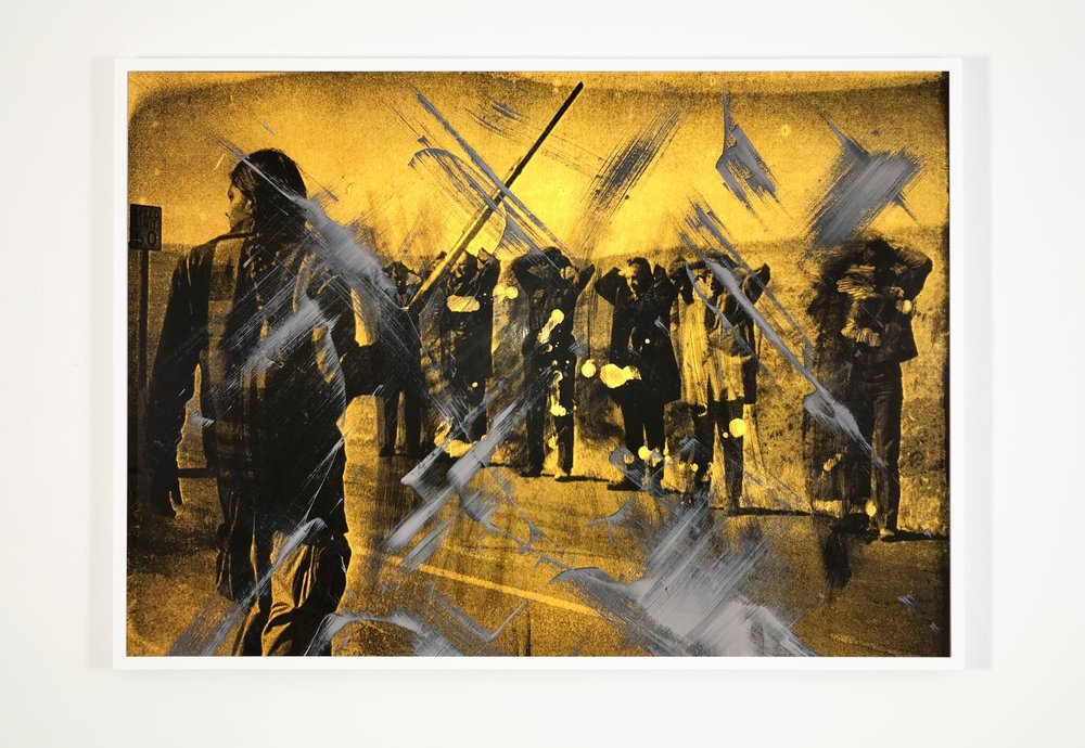 Wounded Knee (flash) © Hank Willis Thomas