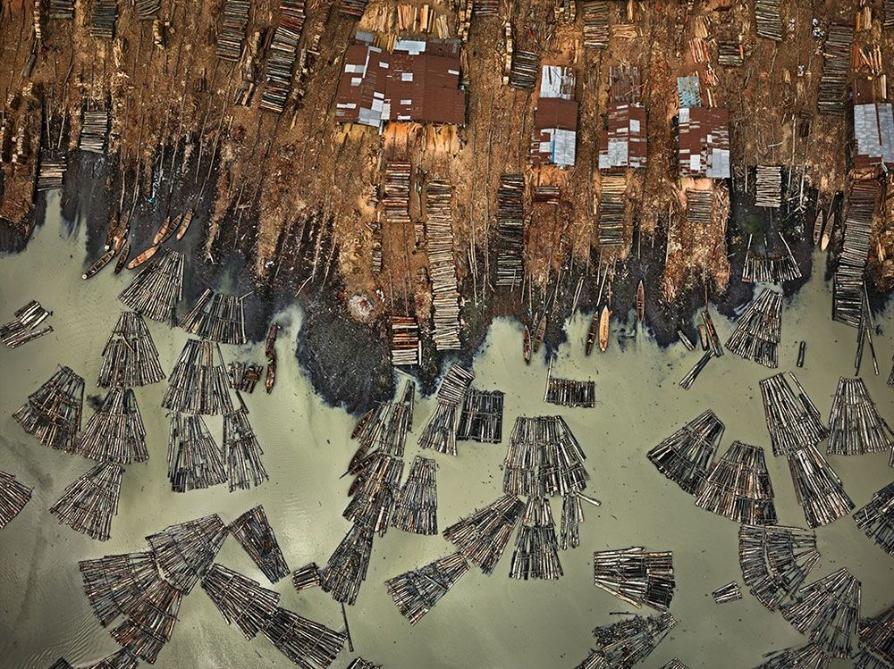 © Edward Burtynsky provided by Sutton PR.   Master of Photography for Photo London's 2018 edition is Canadian fine art photographer Edward Burtynsky. This photograph is a highlight from his featured exhibition, a selection of work extracted from  Anthropocene , his latest project.