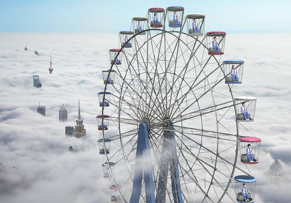 Loving Blue Sky ©Yu Xiao
