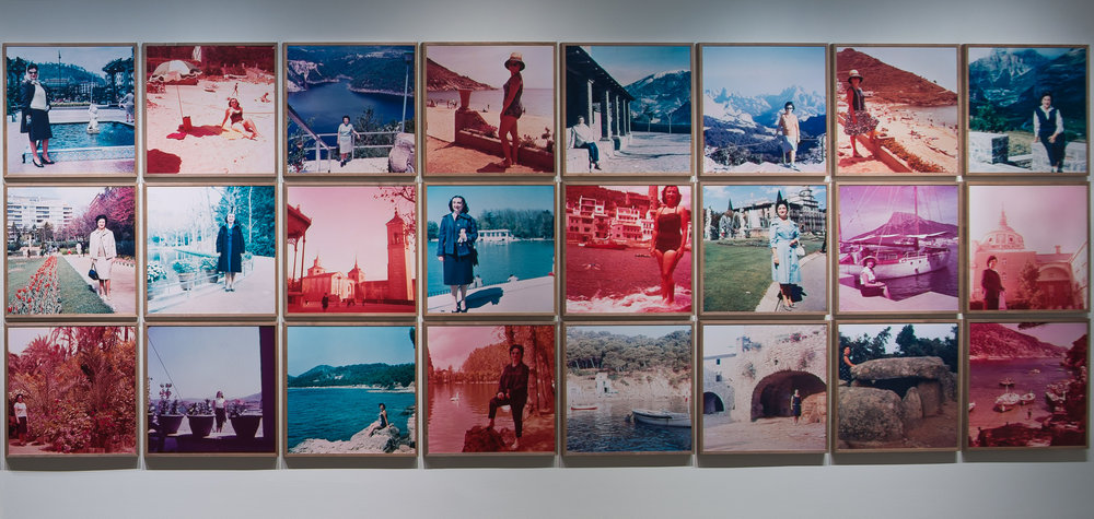Erik Kessels selected works, in almost every picture, installation view Secondhand, 2014; Courtesy Pier 24 Photography, San Francisco.