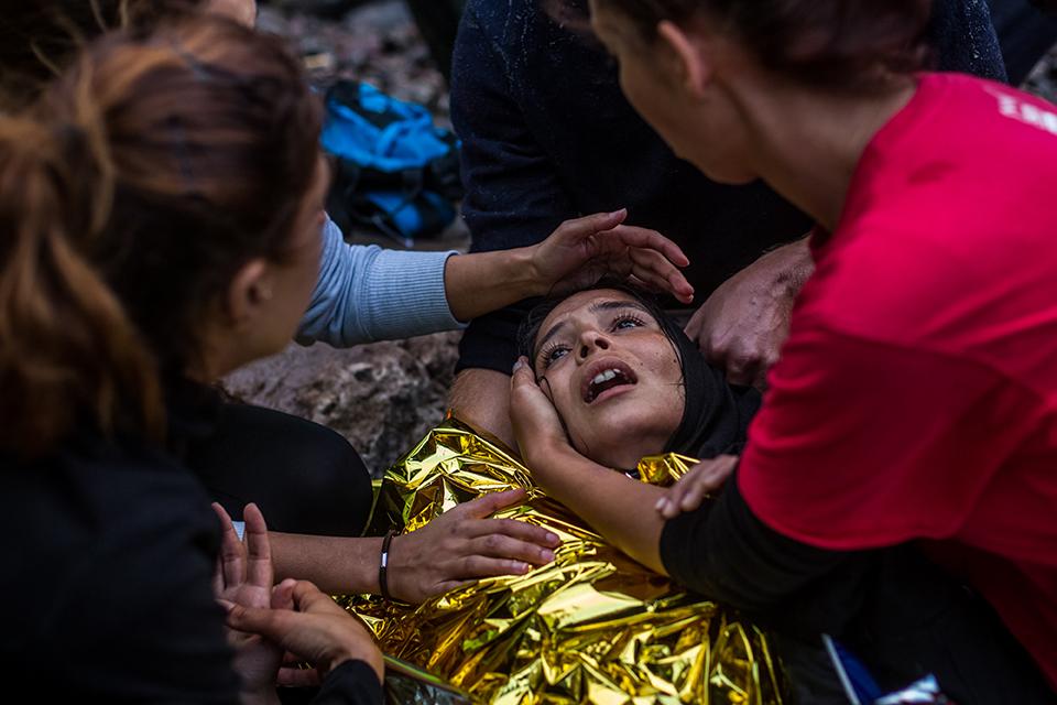 Migrant Crisis in Lesbos ©Martin Divisek