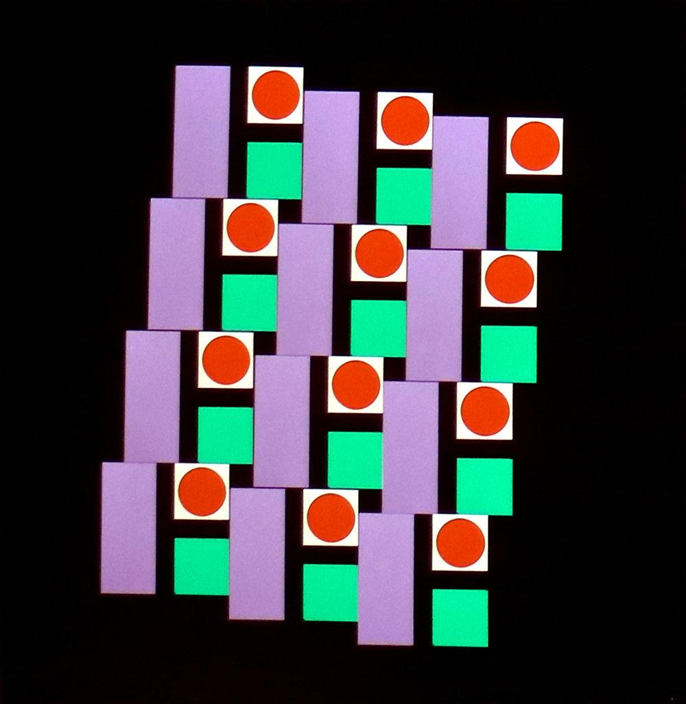 Multiple Optics, 4.4.2, 1973 ©Gottfried Jäger