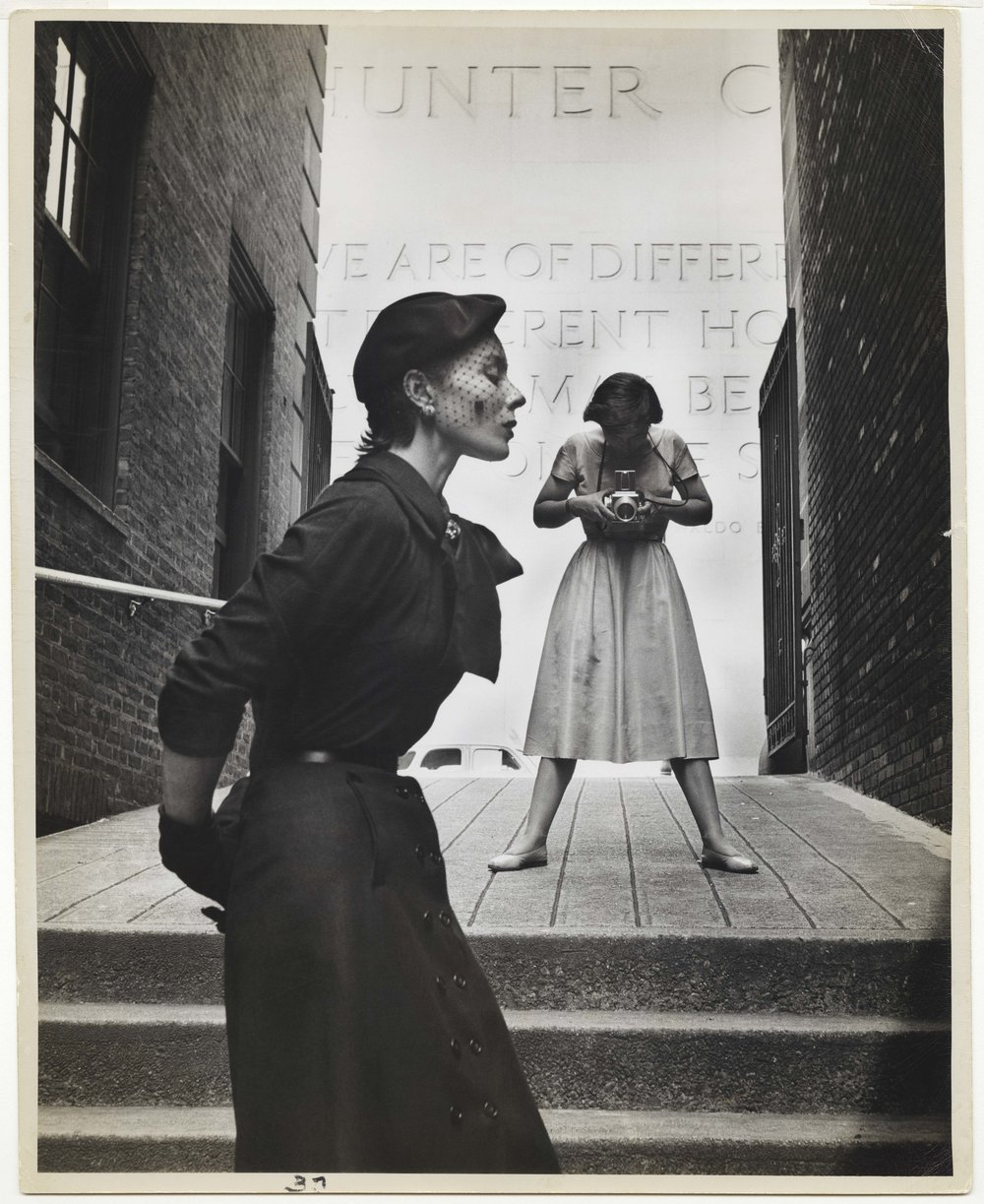 GORDON PARKS (American, 1912–2006), Bettina and Frances McLaughlin-Gill, New York, 1950. Gelatin silver print, 34.3 × 27.3 cm (131⁄2 × 103⁄4 in.) Collection of Beth Rudin DeWoody. Photograph by Gordon Parks / Courtesy of and © The Gordon Parks Foundation