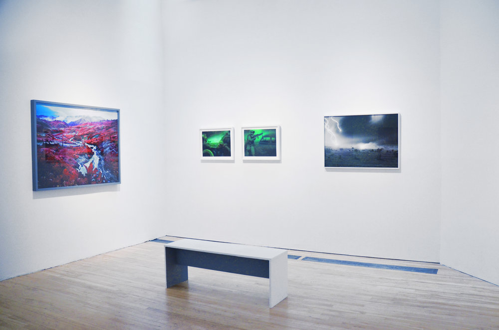 Installation view, Courtesy of apexart