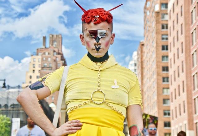 """Ruben Natal-San Miguel, """" Cyber Chic"""" 2018 Pride Parade , 2018"""