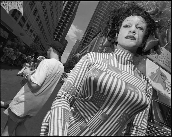 Mary Ellen Mark, Gay Pride Parade,  1997 Manhattan, New York.