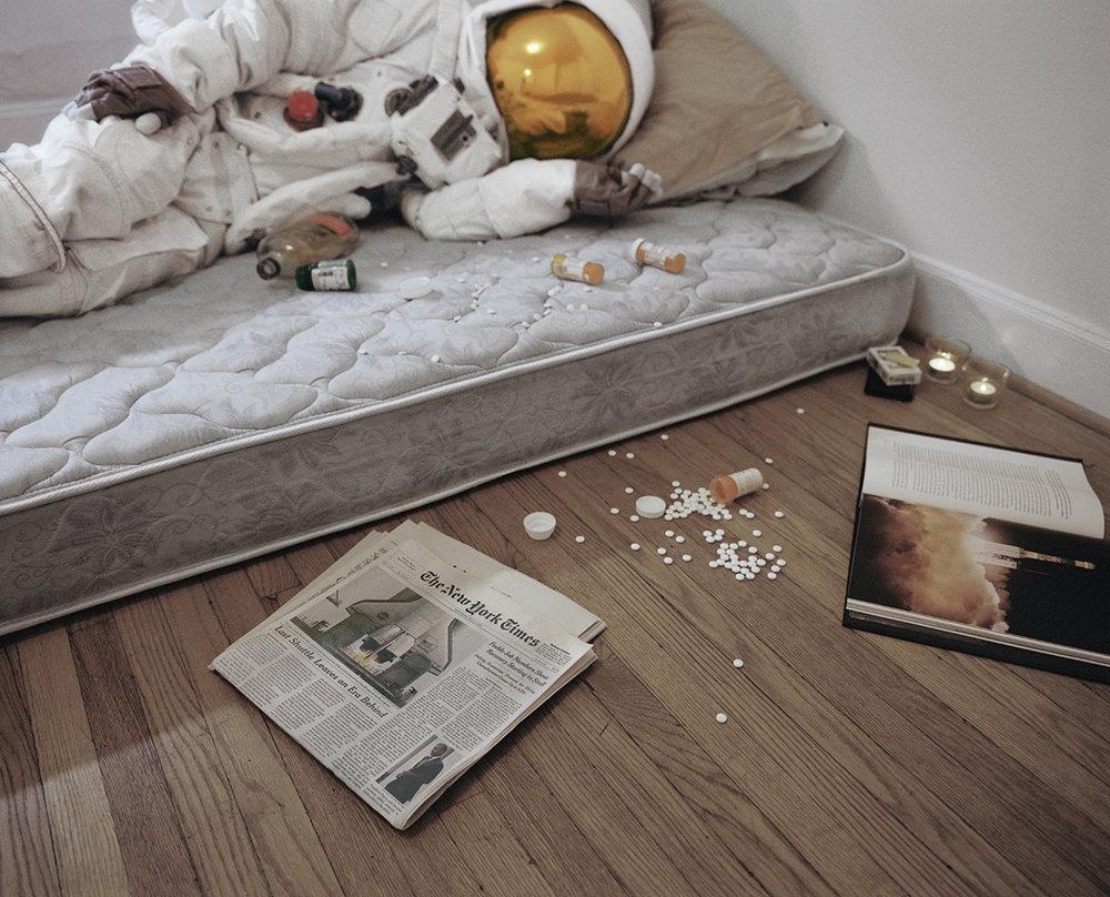Suicidal Astronaut 01 © Neil DaCosta