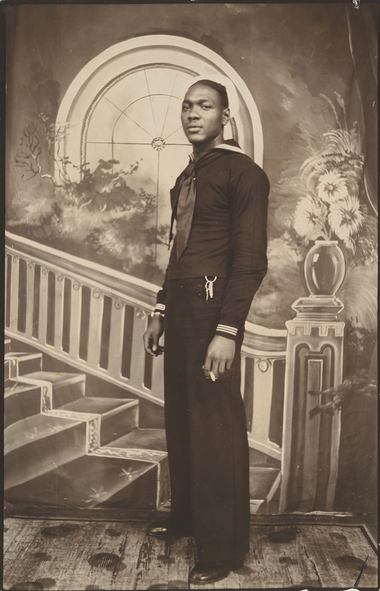 Unknown American maker. Studio Portrait, 1940s–50s. Gelatin silver prints. The Metropolitan Museum of Art, New York, Twentieth-Century Photography Fund, 2015, 2017. Image courtesy:The Metropolitan Museum of Art