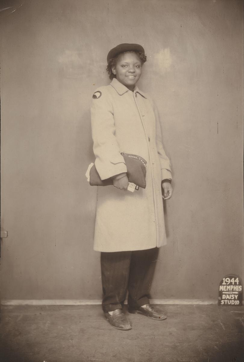 Daisy Studio (American, active 1940s). Studio Portrait, 1944. Gelatin silver prints. The Metropolitan Museum of Art, New York, Twentieth-Century Photography Fund, 2015, 2017. Image courtesy: The Metropolitan Museum of Art