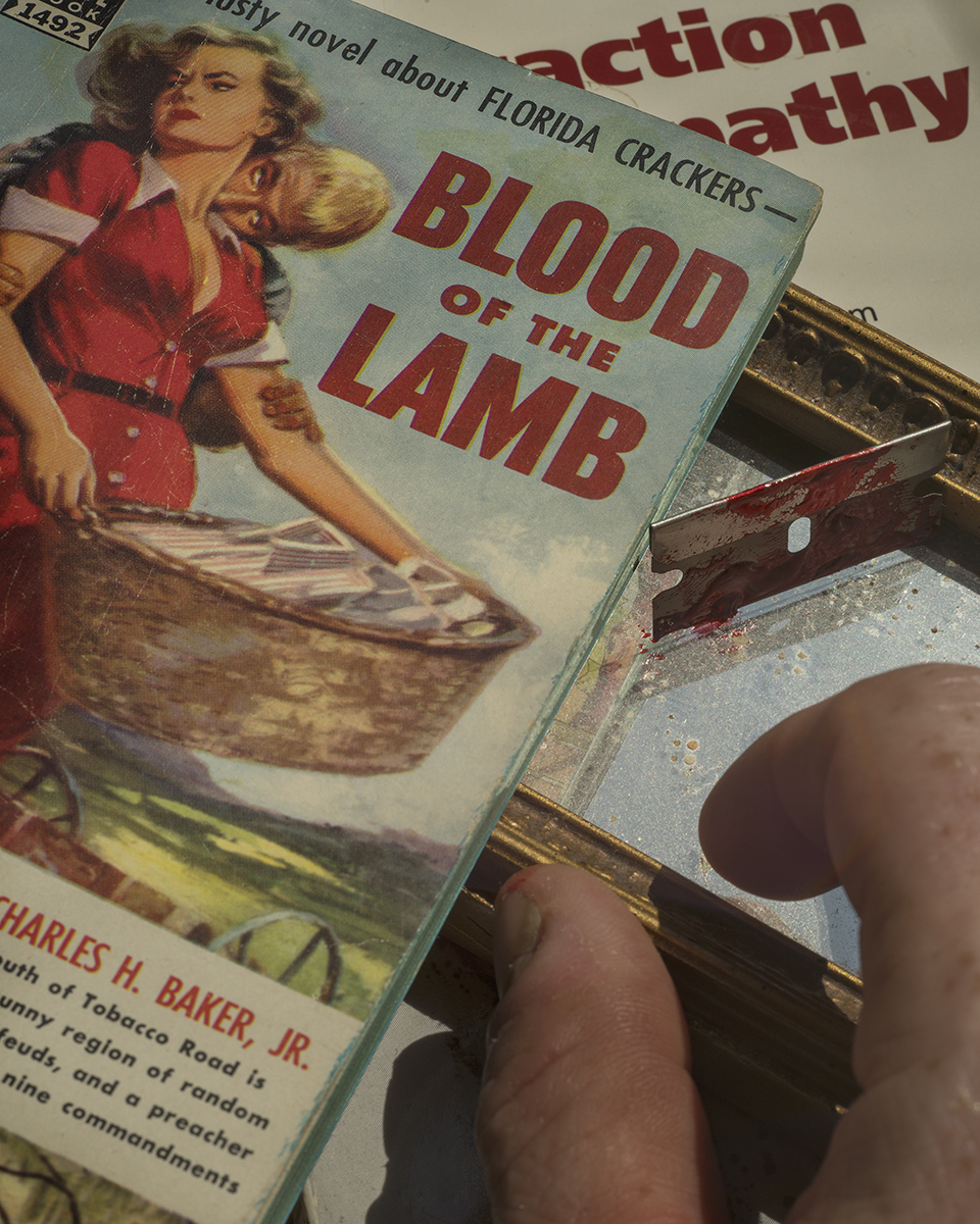 Blood of the Lamb ©Joshua Lutz,  Mind the Gap , Schilt Publishing