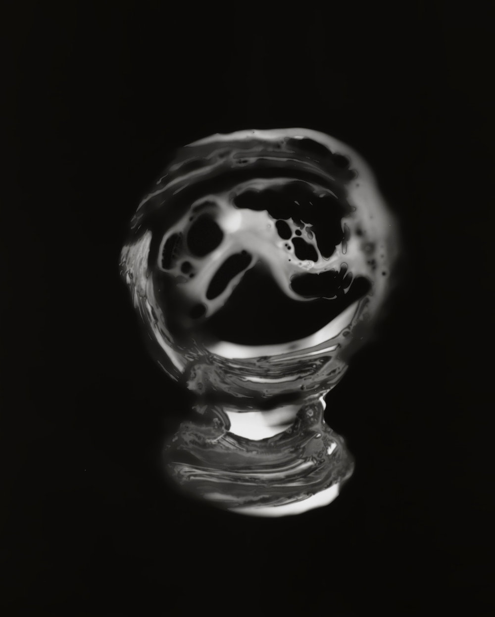 Michelle Charles, Crystal Ball Series 3, No.2, 2012-2013, Gelatin silver print, 16 x 20 inches (40.64 x 50.8 cm). Courtesy of the artist and Jane Lombard Gallery.