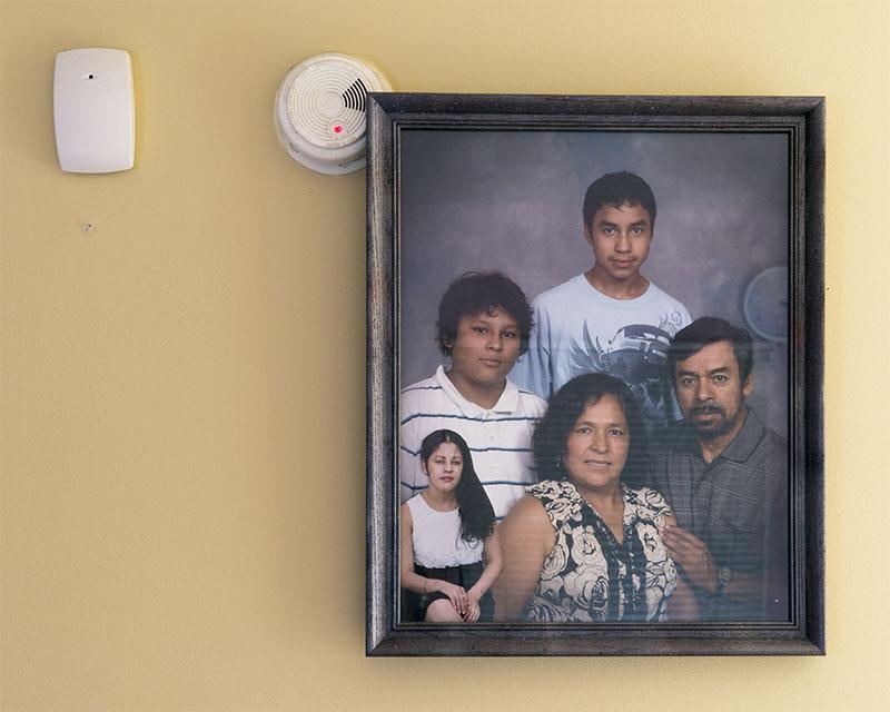 Diego Camposeco,  Gerardo's Family , 2018 ©Diego Camposeco