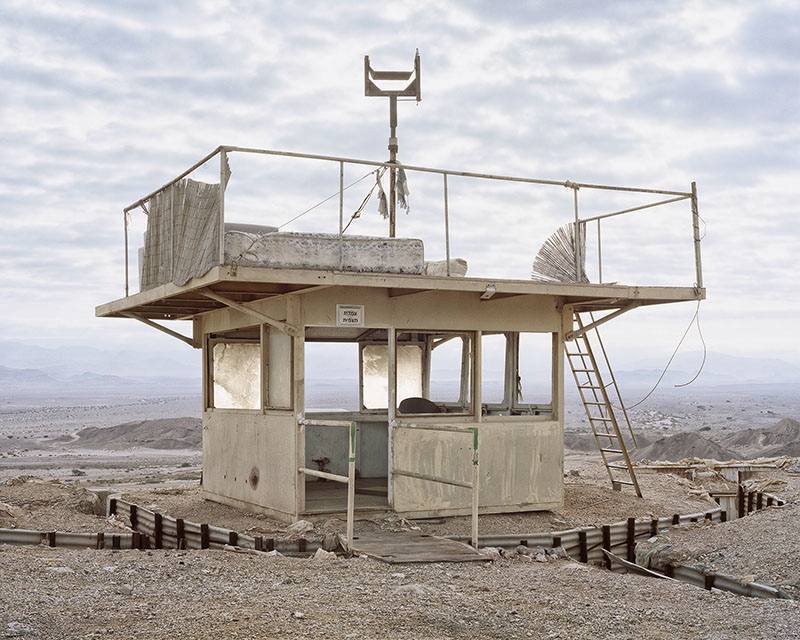 Roei Greenberg,  Alone, Watch Tower, Pharan, the Arava  , 2016 ©Roei Greenberg