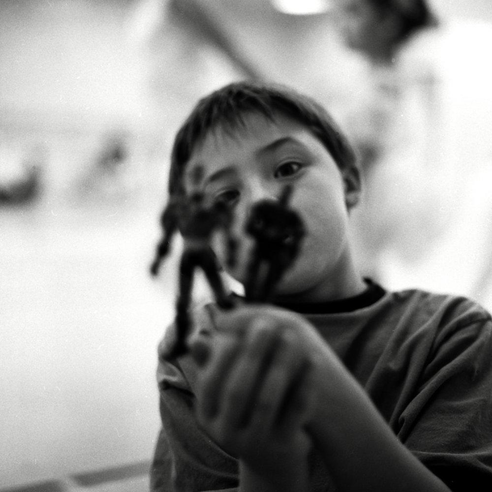 Logan in First Grade©Jeani Elbaum