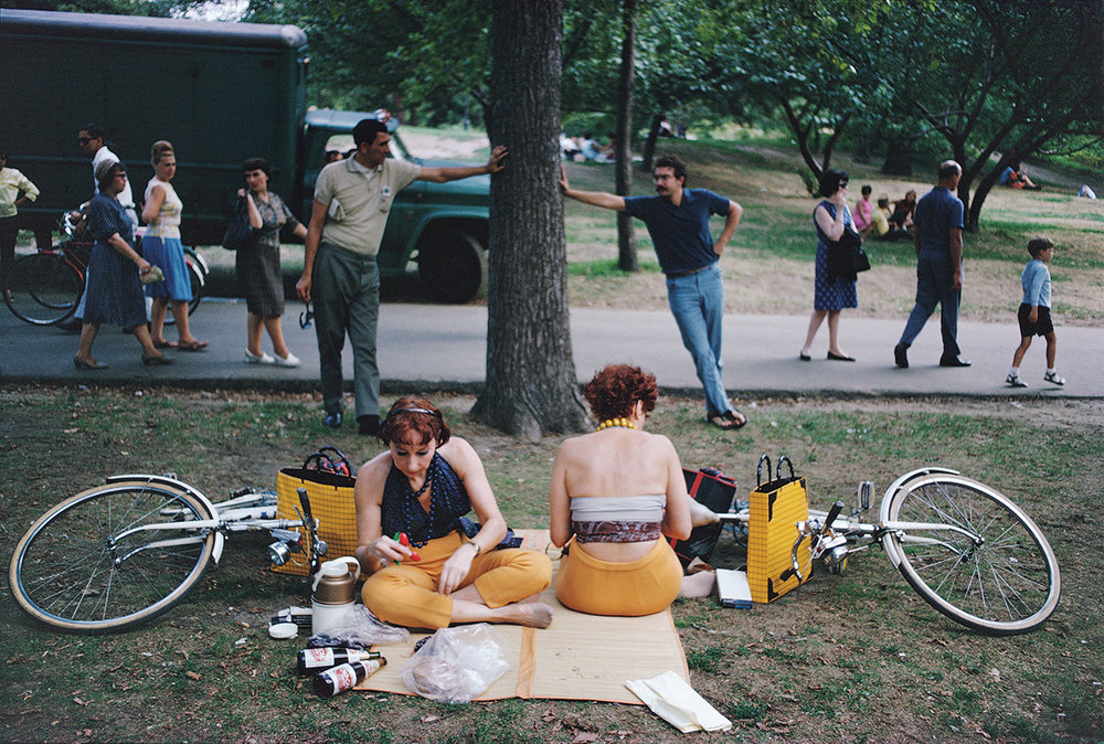 Central Park, New York City, 1966   Courtesy and Copyright of Joel Meyerowitz
