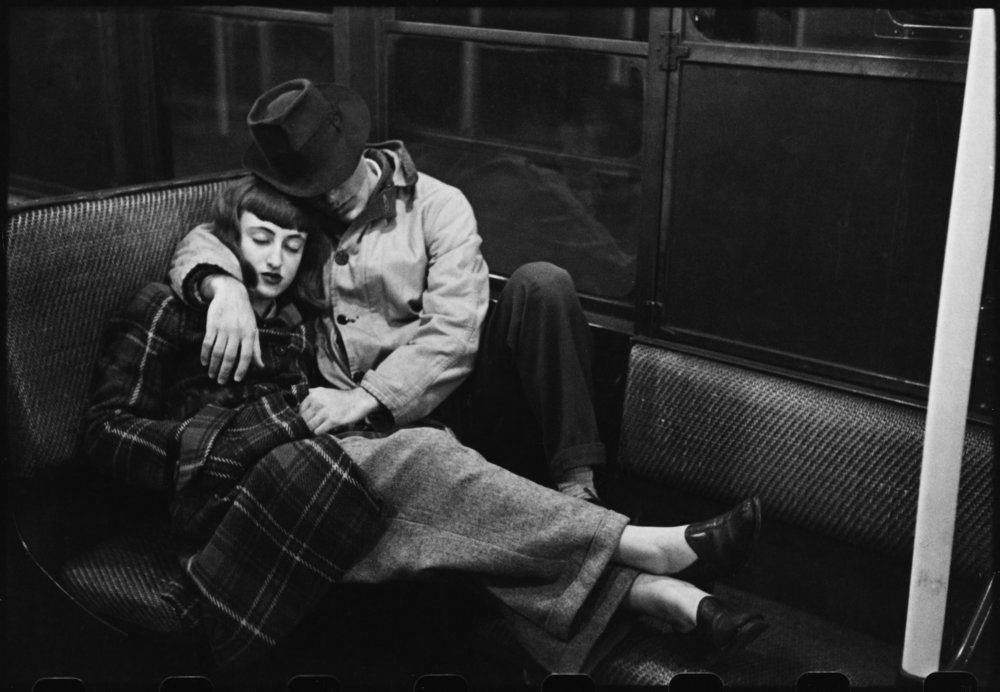 "Stanley Kubrick, from ""Life and Love on the New York City Subway"", 1947"