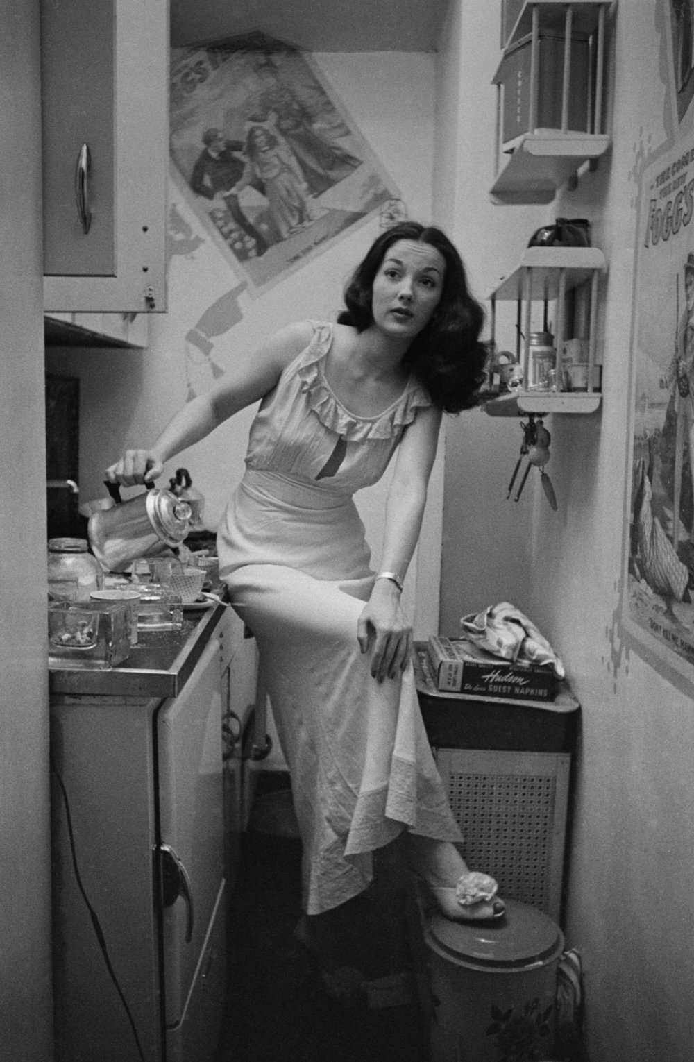 """Stanley Kubrick, from """"Rosemary Williams - Showgirl"""", 1948"""