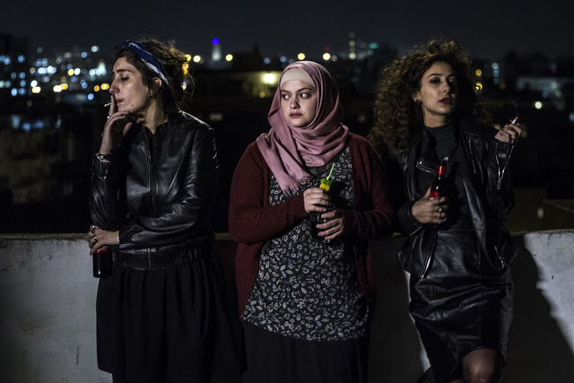 Front cover: Sana Jammalieh, Shaden Kanboura and Mouna Hawa, courtesy of FILM MOVEMENT