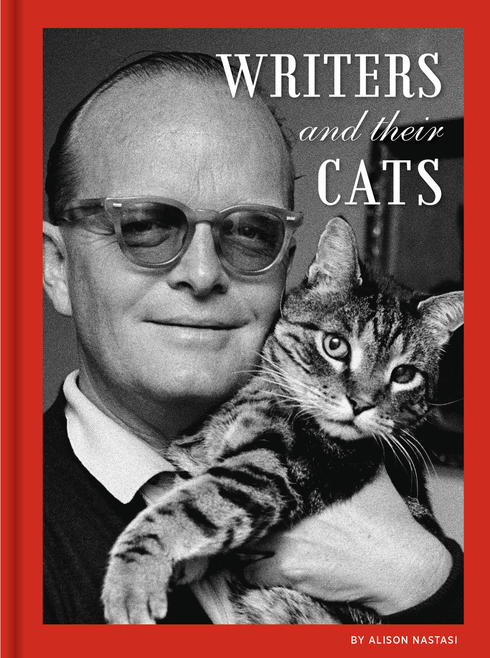All pictures are from  Writers and Their Cats  by Alison Nastasi, published by Chronicle Books 2018, https://www.amazon.com/Writers-Their-Cats-Alison-Nastasi/dp/1452164576