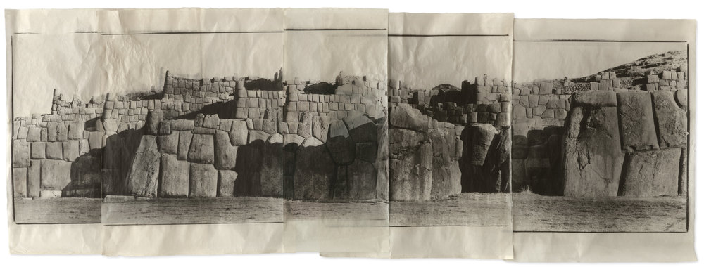 Sacsayhuaman, Cusco, Peru,  2003. © Jean Pagliuso; Courtesy of the artist and Mary Ryan Gallery, New York