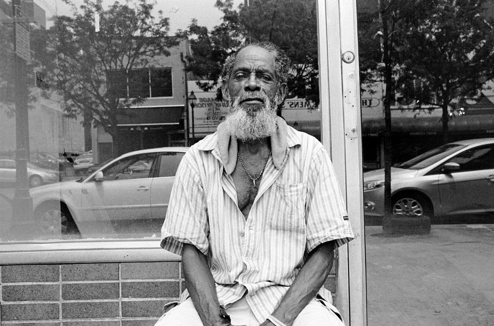"New York's Lucifer © Tomeu Coll  ""Why a young white man like you wants a photo of an old black man like me in Philly?"". Philadelphia. PA 2009"