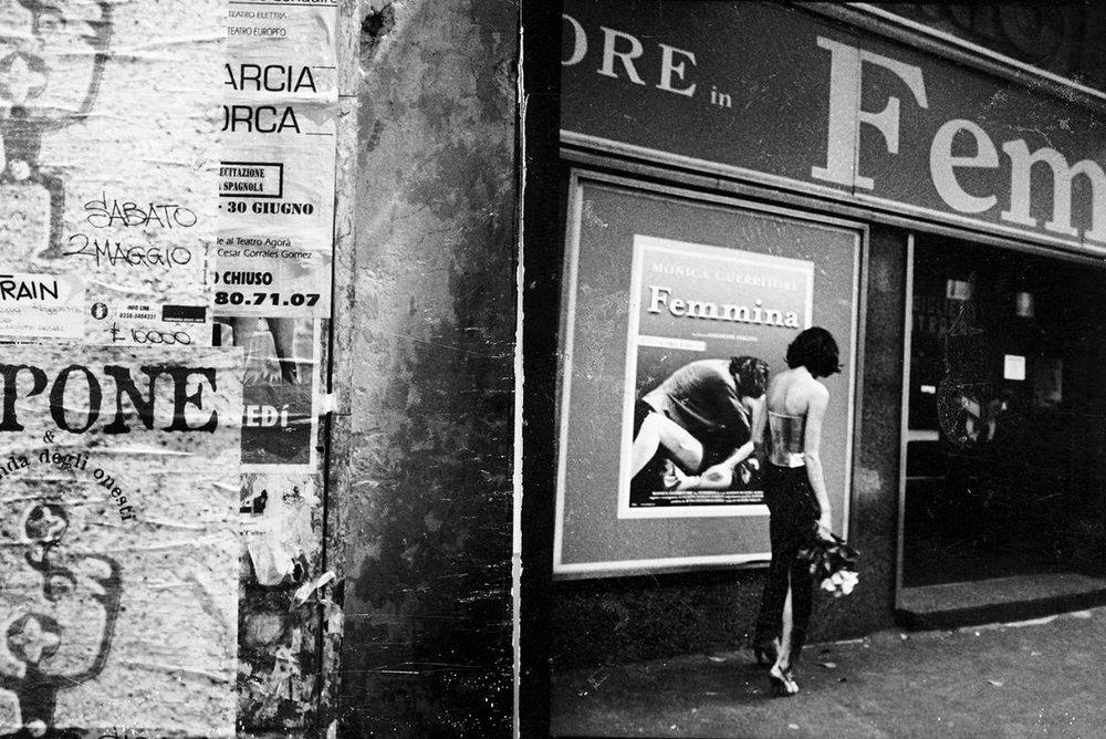 Carolyne Benezet for  Condé Nast Traveler , Rome, 1998 © Stephanie Pfriender Stylander