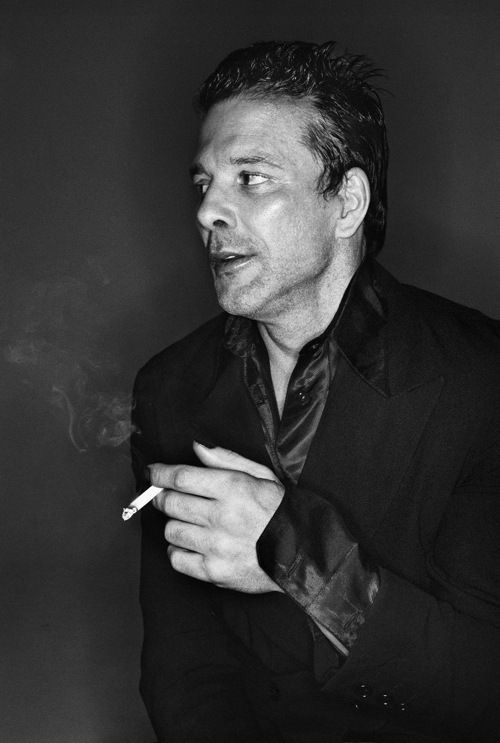 Mickey Rourke for  Entertainment Weekly , New York, 1995 © Stephanie Pfriender Stylander