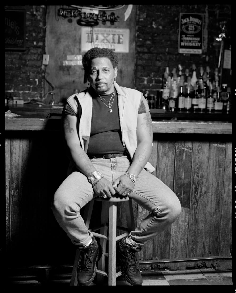 Aaron Neville, 2000, New York City © Arthur Elgort