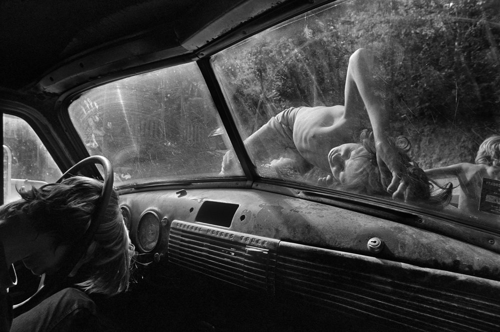 Still House Hollow, Tennessee  , 1986. Gelatin silver print.  Collection of Eugene Richards. © Eugene Richards