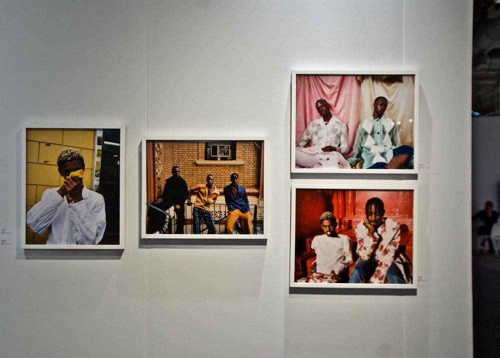Photo of Tyler Mitchell's work © Ruben Natal-San Miguel