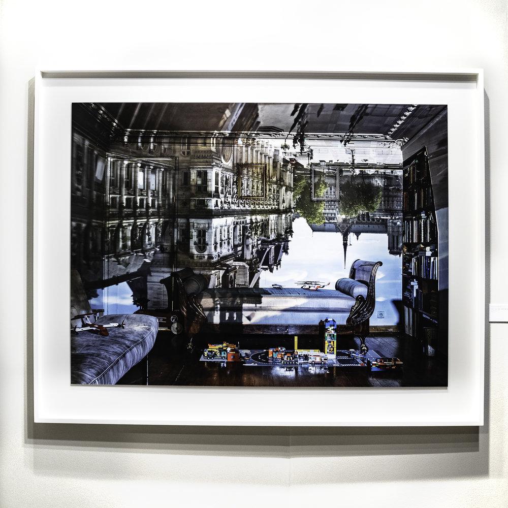 Photo of Abelardo Morell's work © Lin Witte